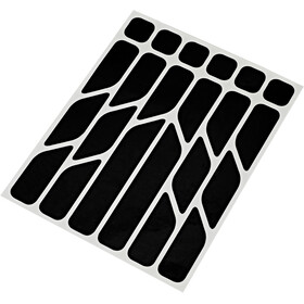 Riesel Design re:flex Reflective Stickers black
